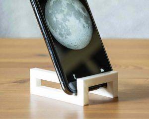 Soporte para móvil fabricado en impresión 3D