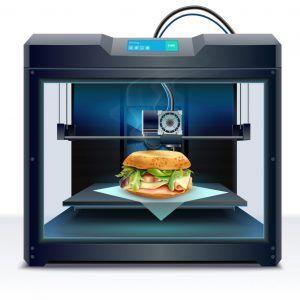 La impresión 3D en la industria alimentaria