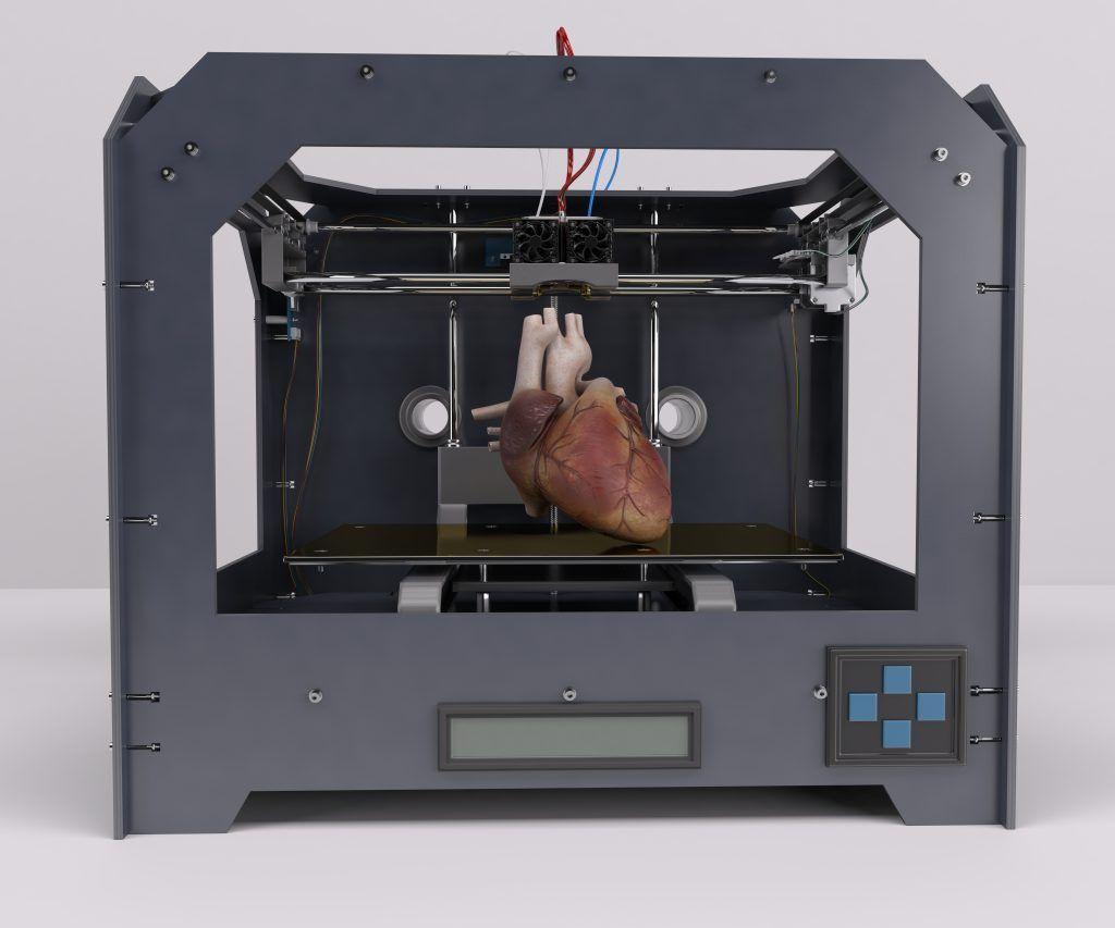 Imprimiendo en 3D organos humanos - corazón