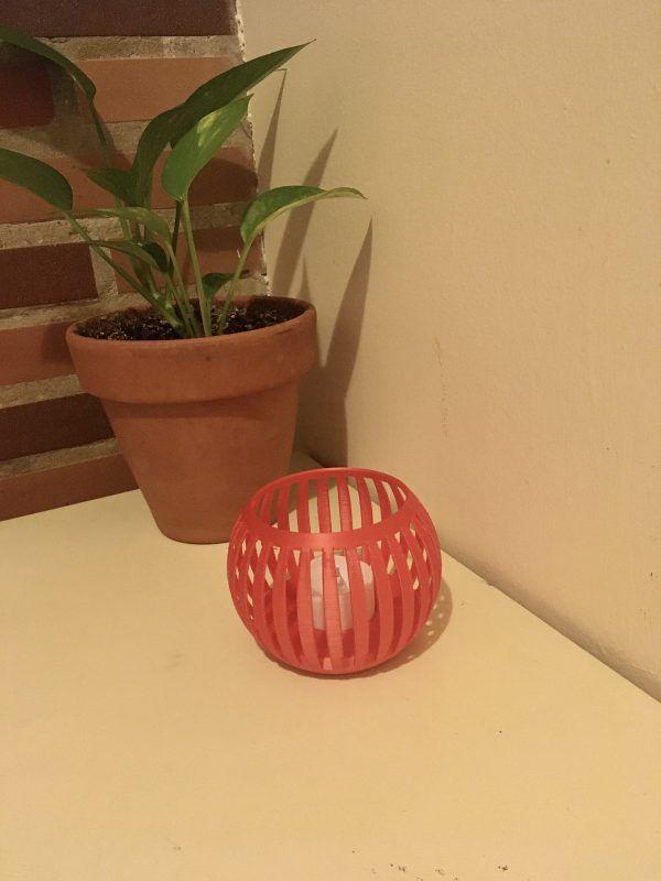 Candelabro impreso en 3D